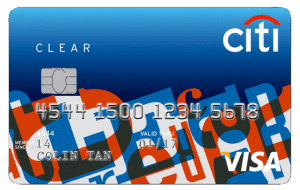 Citibank Clear Credit Card