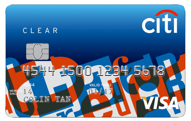Citibank Student Clear Card