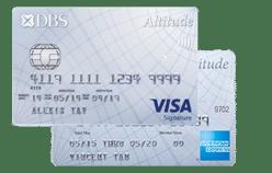 DBS Altitude Card