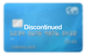 Discontinued Credit Card
