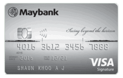 Maybank Horizon Visa Signature Card