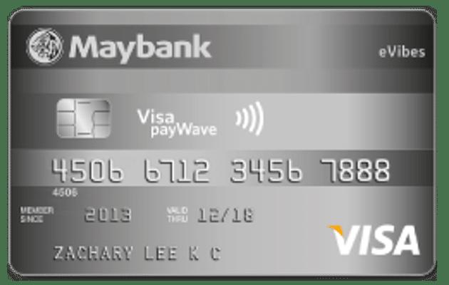 Maybank eVibes Credit Card