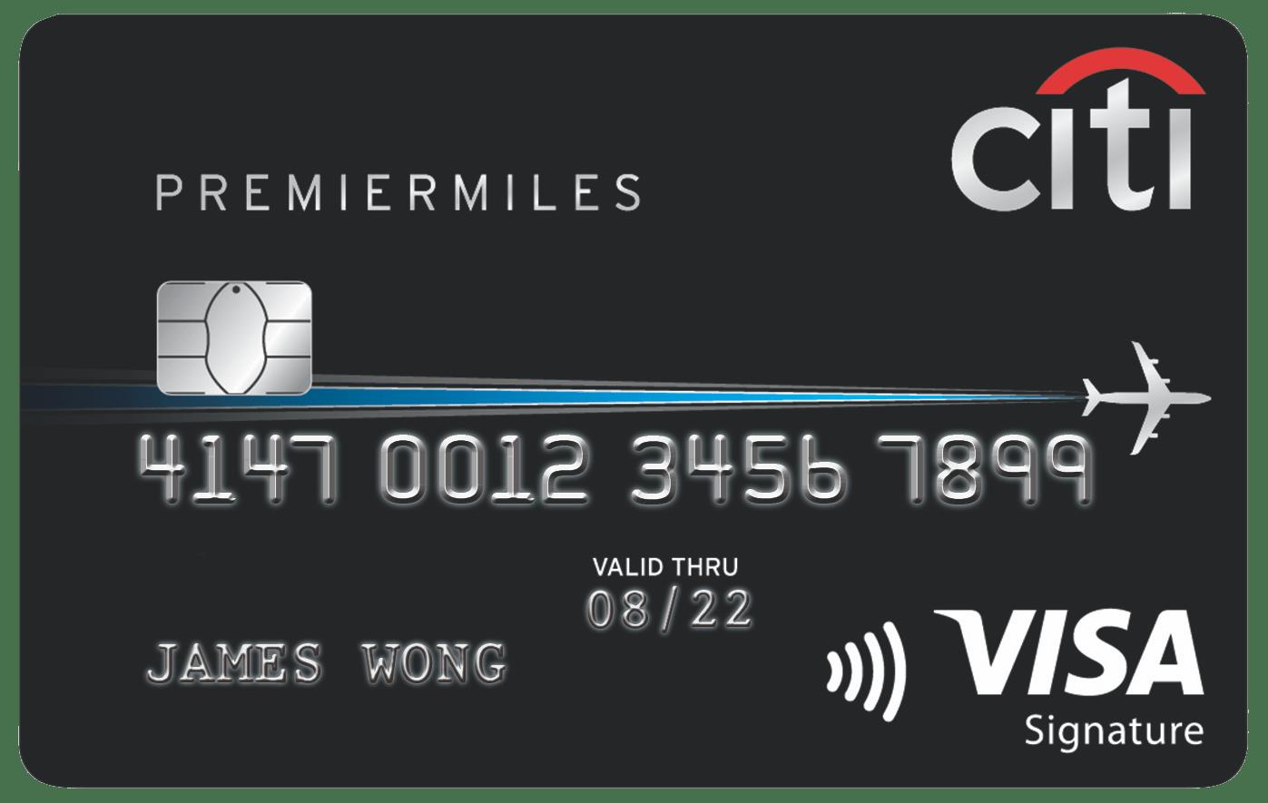 Citi PremierMiles Credit Card   Singapore 2018   Credit ...