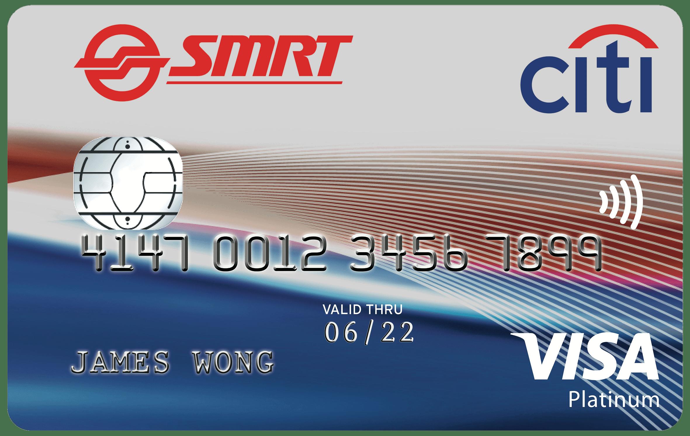 Citibank Smrt Credit Card Singapore 2018 Credit Card