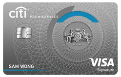 Citibank PremierMiles Credit Card
