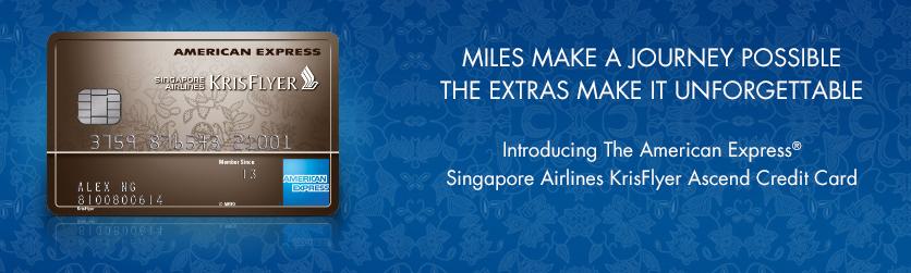Singapore credit card