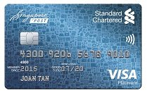 Best Standard Chartered Singpost Credit Card in Singapore