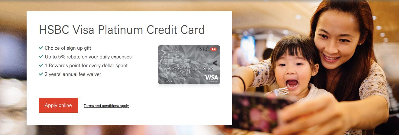 Best HSBC Credit Card Promotion