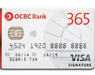 OCBC 365 Cashback Credit Card