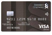 The best credit cards in singapore updated september 2018 standard chartered visa infinite credit card reheart Image collections