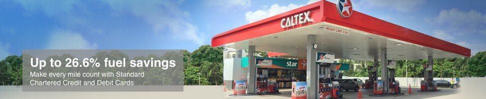 Caltex Petrol Standard Chartered