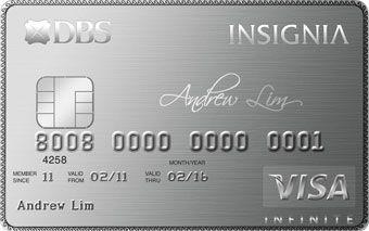 DBS insignia infinite card