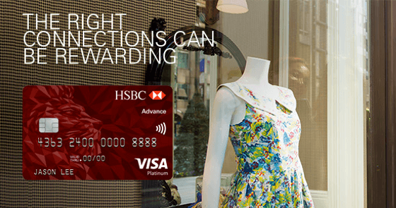 The All New HSBC Advance Credit Card   EnjoyCompare