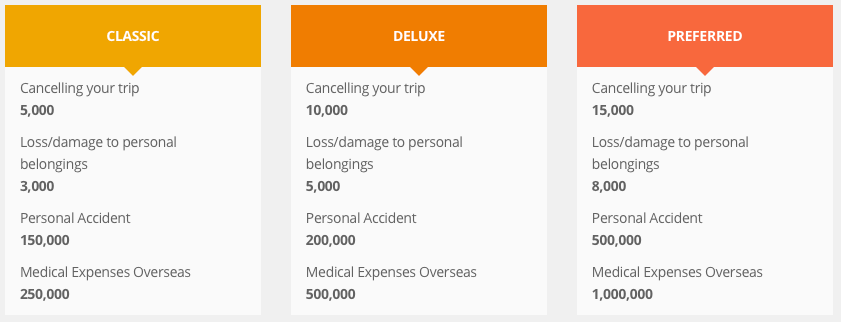 Travel Insurance NTUC INCOME