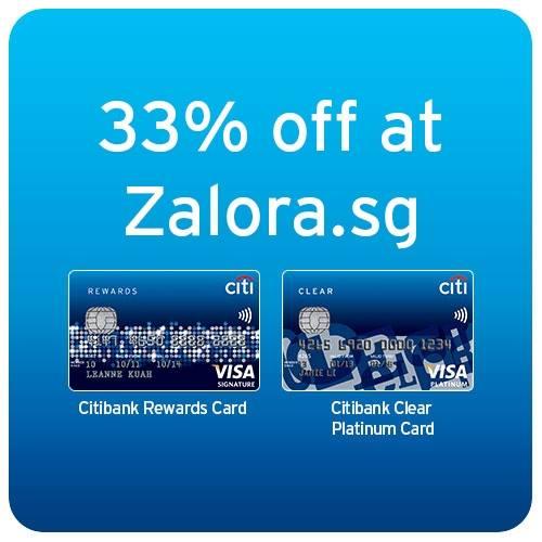 Citibank Zalora.sg flash rewards