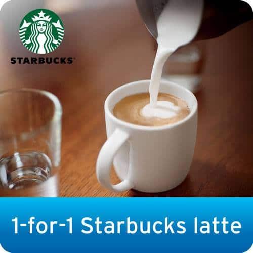 Citibank 1-fo-1 Starbucks Latte
