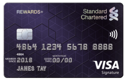 Standard Chartered Rewards Plus Card