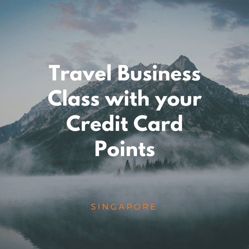 How To Fly Business Class With Your Credit Card Points Enjoycompare