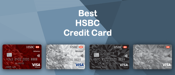 Best HSBC Credit Cards in Singapore | EnjoyCompare