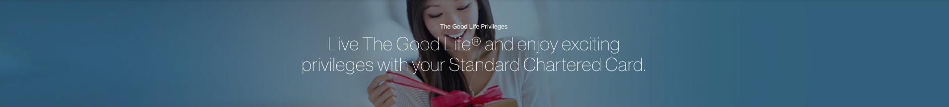 Standard Chartered September promotions